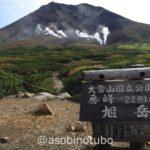 【特集:9月の道央2泊3日】日本一早い紅葉を見に大雪山系旭岳へGO